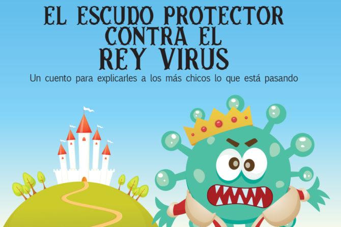 EL ESCUDO PROTECTOR CONTRA EL REY VIRUS / Lectura para niños